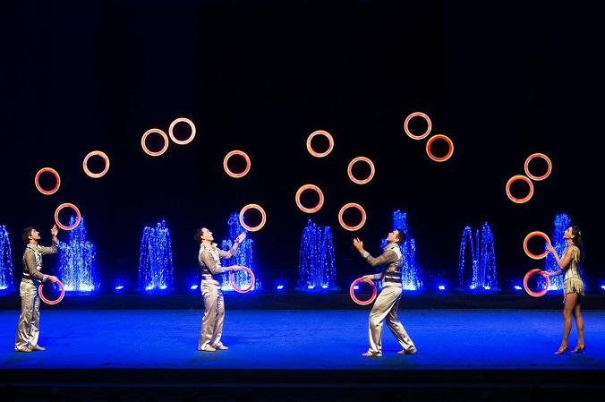 Цирк Танцующих Фонтанов «Аквамарин» представляет новое шоу «Мечта»