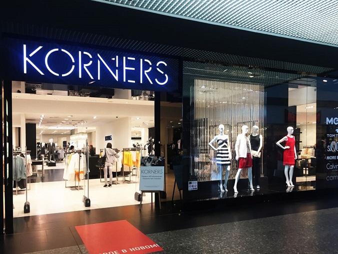 Открытие мультибрендового магазина KORNERS