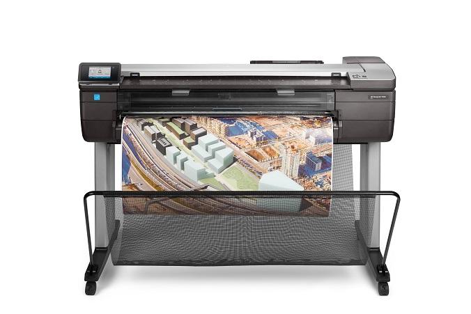 HP представила революционные широкоформатные принтеры