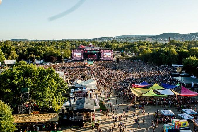 Рекордное количество посетителей на фестивале Sziget