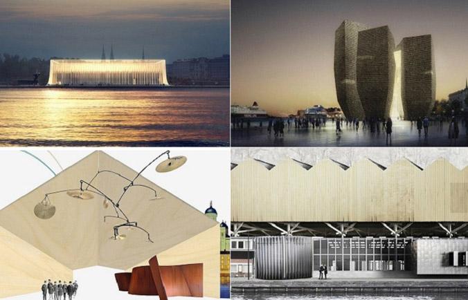 Конкурсные проекты Музея Гуггенхайм в Хельсинки