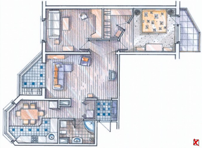 неправильная форма квартиры1