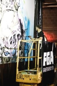 Граффити от FGA