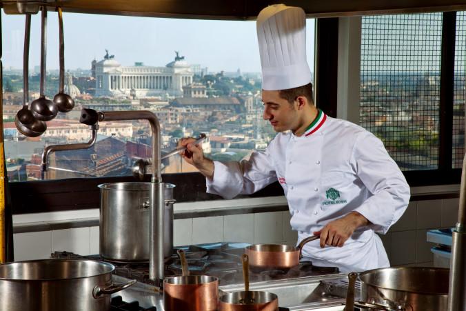 Hotel Eden-Chef Cooking-Nov 2013