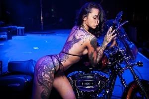Tattoo queen Анжелика Андерсон