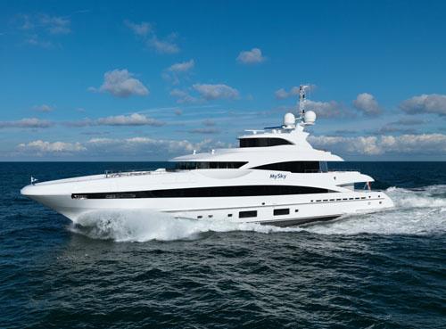 Heesen Yachts HY16551 My Sky