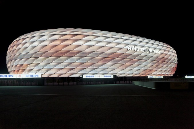 Philips LED-Beleuchtung Allianz Arena