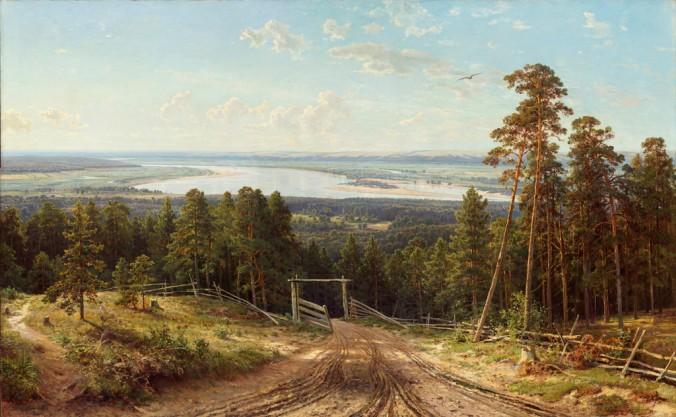 Иван Шишкин_Разлив реки Камы близ Елабуги_1895 год