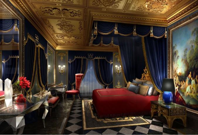 The 13_Королевская спальня