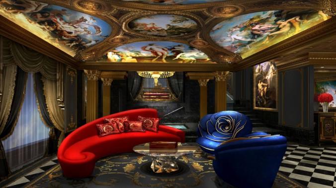 The 13_Мебель бриллиантовой коллекции, гостиная