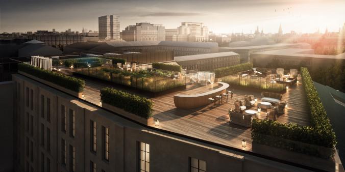 5. Bulgari Hotel Moscow Rooftop