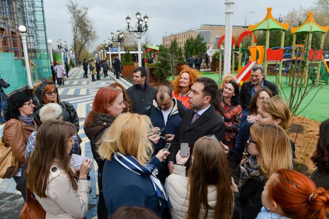 9 Денис Капроалов отвечает на вопросы журналистов