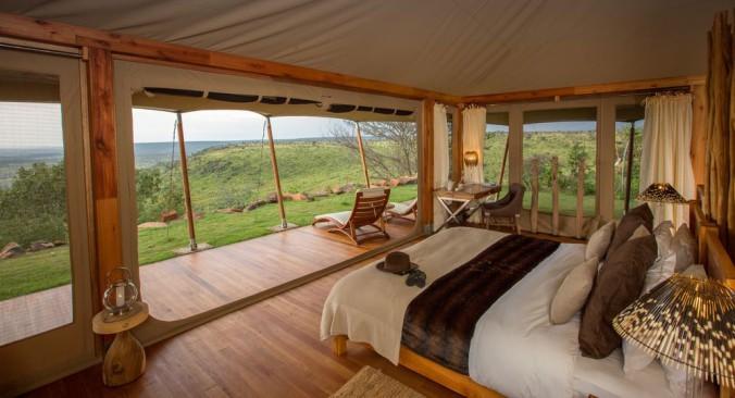 Loisaba Tented Camp tent interior_1
