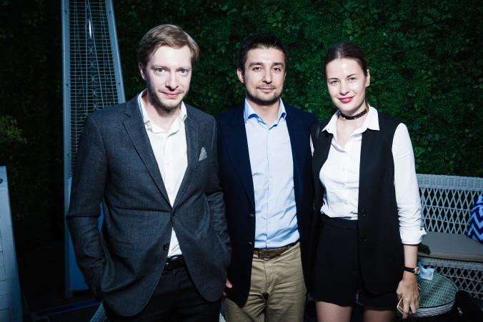 Михаил Батков,Сергей и Татьяна Азатян