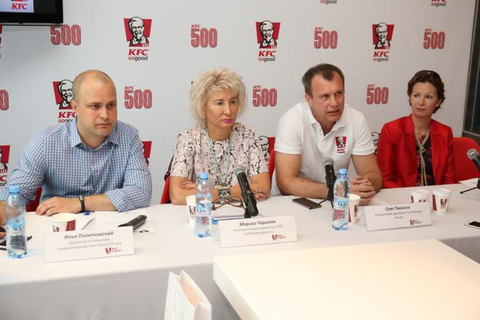 пресс-конференция KFC