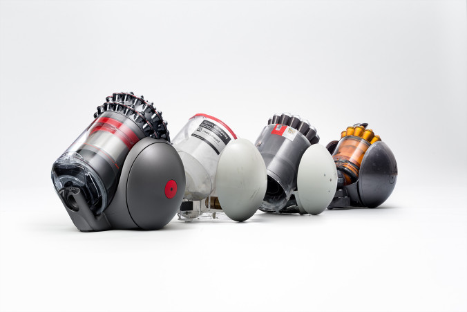 Dyson Cinetic Big Ball vacuum development