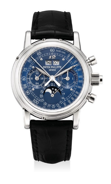 HK$6,280,000_Patek Philippe.platinum perpetual calendar split seconds chronograph, Ref 5004