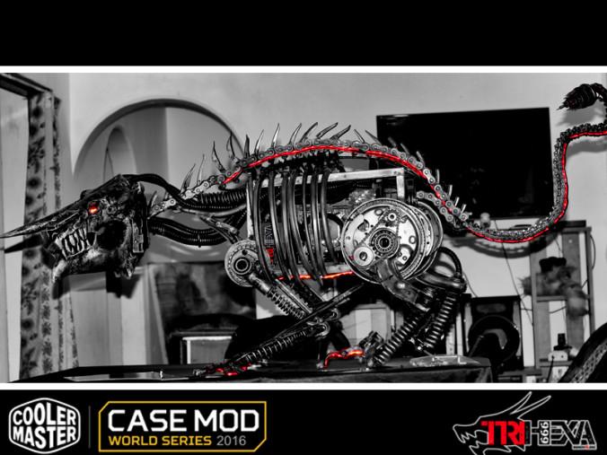 People's choice scratch build TriHexa 666 Apocalypse Dragon-1