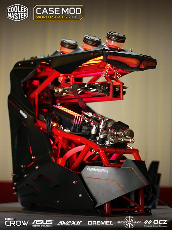 Scratch build 1st Ghost Rider-2