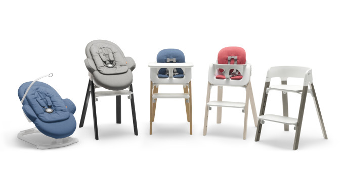 Steps highchair line-up product
