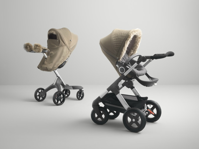 Stokke Stroller Winter Kit Bronze Brown 160822-09