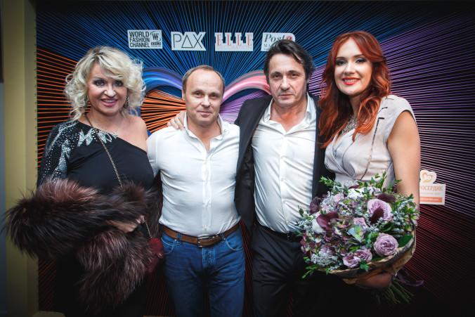 Дидье Мариен, Анастасия Щипанова и гости