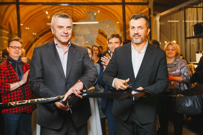 Владимир Сергеев (ГУМ) и Сергей Макарин (Nespresso)