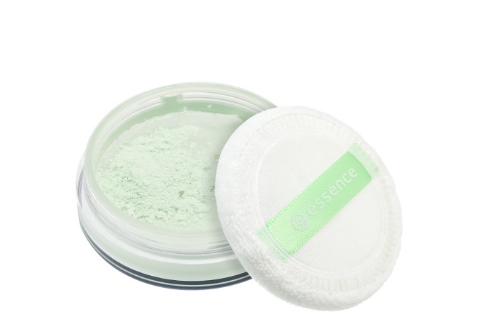 essence little beauty angels COLOUR CORRECTING anti-redness loose setting powder