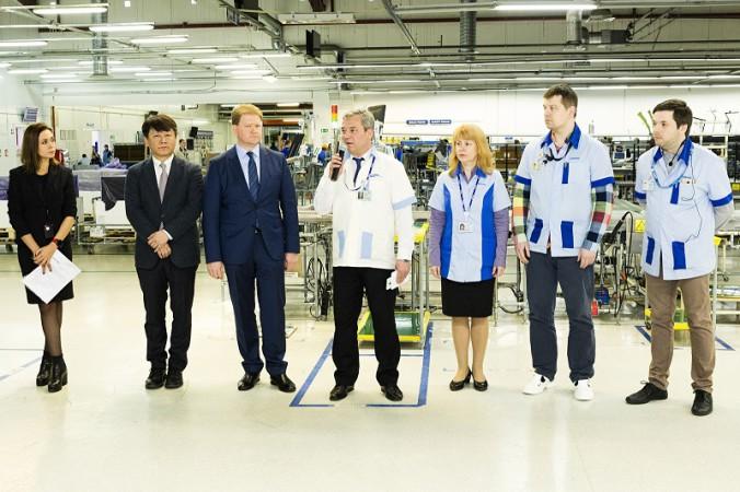 Открытие производства QLED TV на заводе Samsung в Калуге (3)