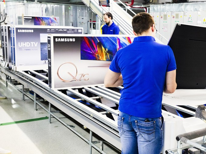 Пресс-тур завод Samsung QLED TV (1)
