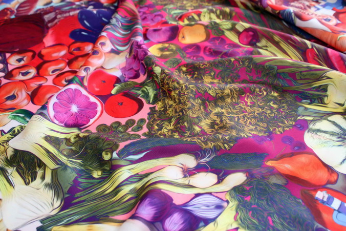 Radical Chic - Ingredient scarf highres 3