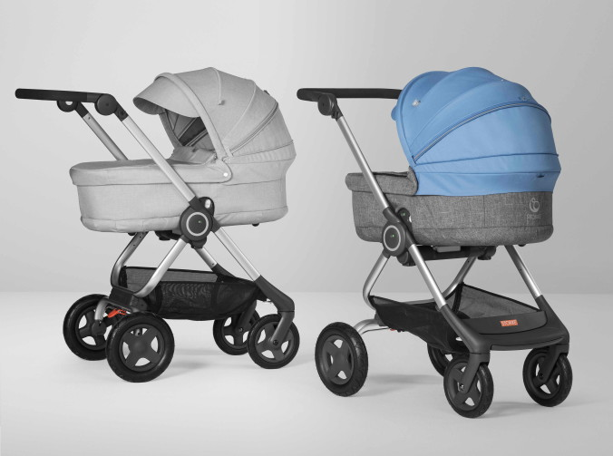 Stokke Scoot with Carry Cot 160830-11