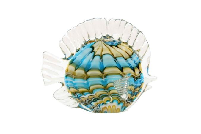 Yves Delorme Фигура Рыба Полоска