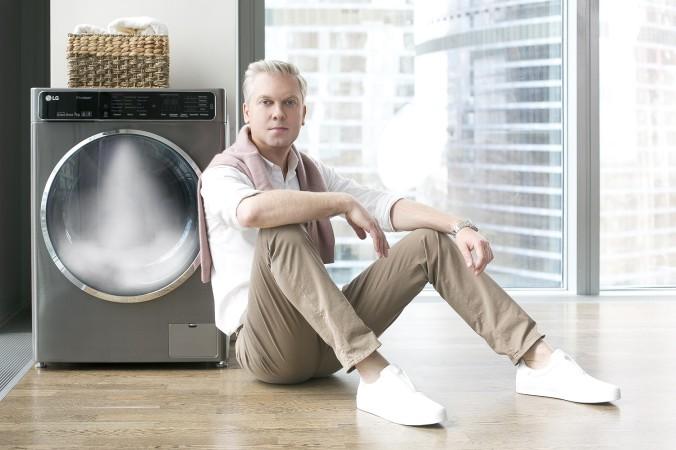 Сергей Светлаков и стиральная машина LG с инверторным мотором с системой прямого привода