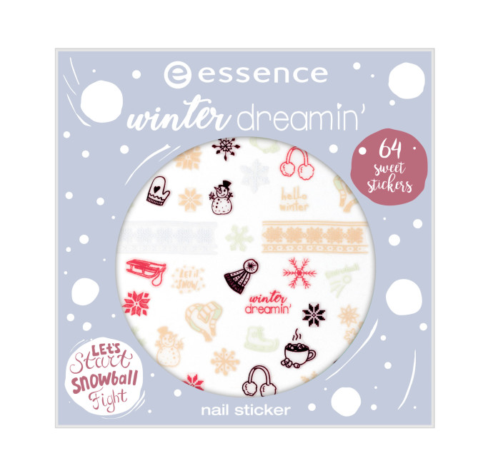 essence winter dreamin? nail sticker 01