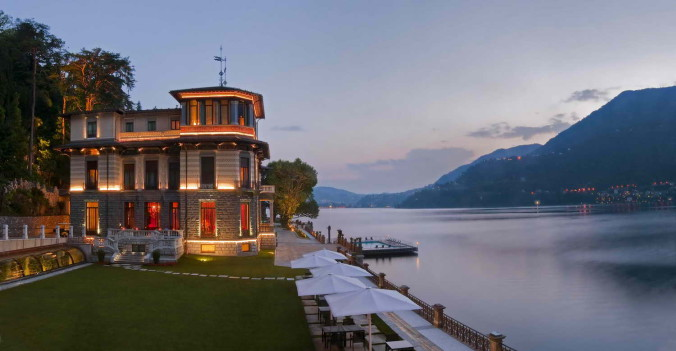 CastaDiva Resort & Spa_Villa Roccabruna_Exterior view_July 2013