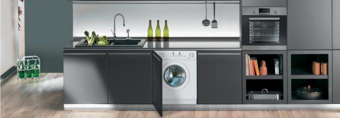 Washing Machine-built-in-kitchen
