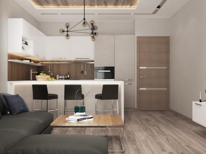 кухня-гостиная 7