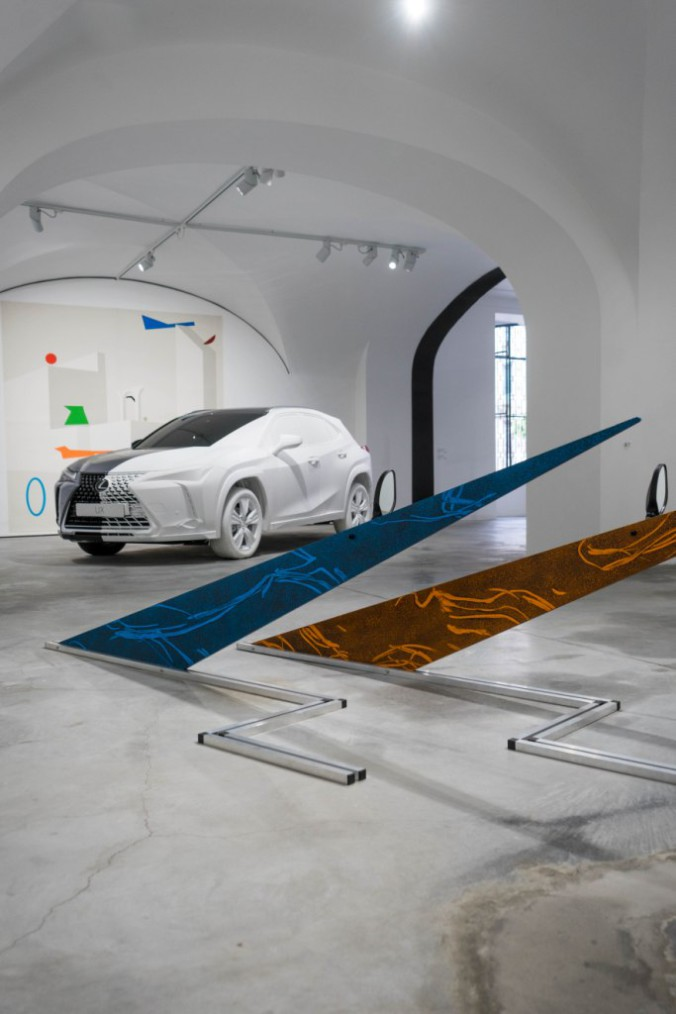 LEXUS UX ART SPACE