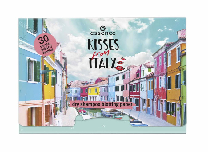 ess_kisses from italy_dry shampoo blotting paper