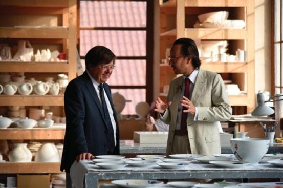 Bernardaud x Joan Miro
