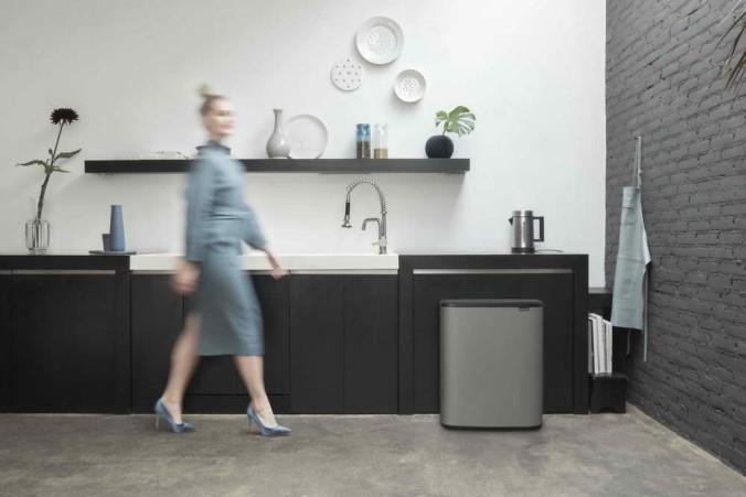 Bo Touch Bin, 60L - Mineral Concrete Grey - 8710755223129 Brabantia_300dpi_5760x3840px_6_NR