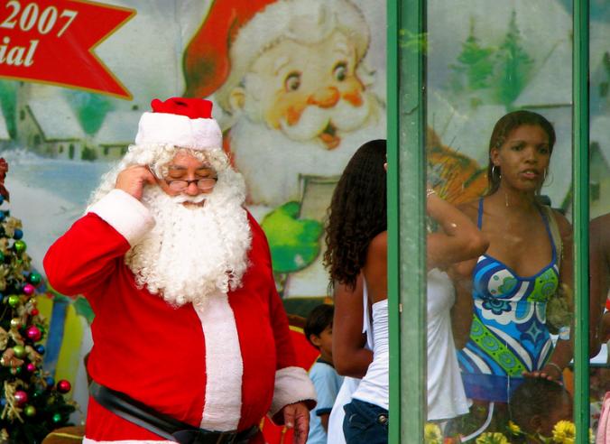 Санта Клаус Бразилия
