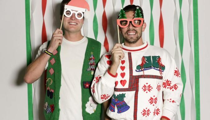 вечеринка уродливых свитеров