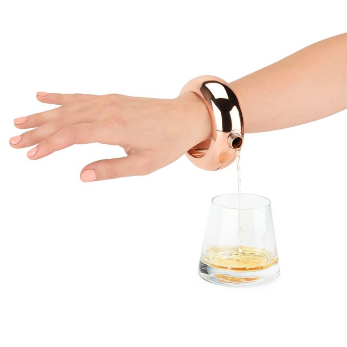 Boozelet Bracelet Alcohol Flask